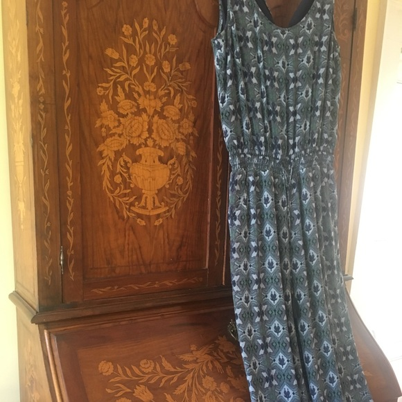 Tory Burch Pants - Fabulous Tory Burch summer ikat jumpsuit!  Mint.